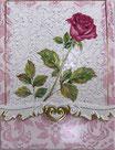 Carol  Memopad EMBPUR50「一本の薔薇」