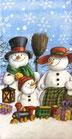 227 *01390 Snowman Family