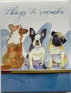 PS Memopad 46711 「Dog Trio」
