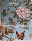Carol  Memopad EMBPUR25「薔薇と蝶」