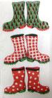 210  *12850M Christmas Wellies