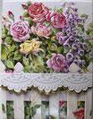 Carol  Memopad EMBPUR48「庭の花」
