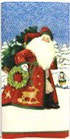 234 *10860M Snowflake Santa