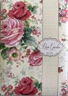 01-6822 Rose Garden  封筒&カードセット