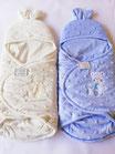 Baby sacco per neonati in morbida e calda ciniglia di Nazareno Gabrielli. C074