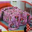 Trapunta Minnie Disney piumone invernale singolo una piazza 170x270 cm. B567