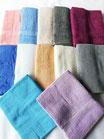Asciugamano Liabel 1+1 asciugamano viso e ospite in spugna di cotone tinta unita. B750