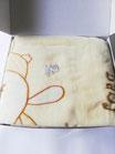 Copertina lettino in pile cinigliato i Batuffolini. Dis Orsetto 110x140 cm. C070