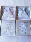 Coordinato lettino (culla) set 4 pezzi con completo lenzuola più copertina di Nazareno Gabrielli. C076