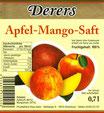 Apfel-Mango-Saft (0,7l)