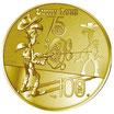 100 Euro Lucky Luke 2021 Gold PP