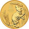 5 x Lunar III Maus 1 Oz Gold 2021