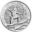 1 x 2 GBP Robin Hood 2021 Silber 1 Oz