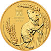 10 x Lunar III Maus 1 Oz Gold 2021