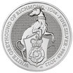 The Queen's Beasts Greyhound 2022 Silber 10 Oz