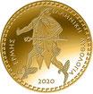 100 Euro Gold Hermes 2020 Olympische Götter PP