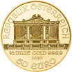 Wiener Philharmoniker 2021 Gold 1/2 Oz