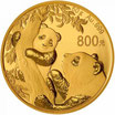 China Panda 2021 Gold 50 Gramm