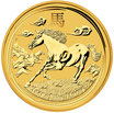 Lunar II Pferd 1 Oz Gold