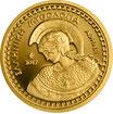100 Euro Gold Athena 2017 Olympische Götter PP