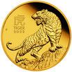 25 AUD Lunar 3 - Tiger 2022 1/4 Oz Gold