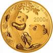China Panda 2021 Gold 150 Gramm PP