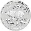 Lunar II  Schwein 1 Kg Silber 2019
