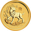 Lunar II Hund 1 Oz Gold