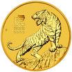 Lunar III Tiger 1/2 Oz Gold 2022