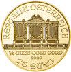 Wiener Philharmoniker 2021 Gold 1/4 Oz