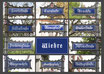 Postkarte FR Wiehre Straßen