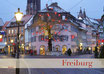 Postkarte FR Oberlinden Winter