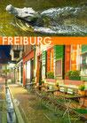 Postkarte FR 2Drittel Krokodil