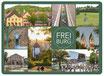 Postkarte FR Dutzend grün