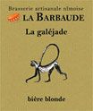 "Bière artisanale blonde ""la galéjade"""