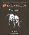 "Bière artisanale brune ""Maltador"""