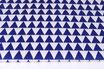 Dreiecke,dunkelblau, 3 cm