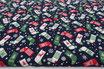 Weihnachtsocken, dunkelblau, Weihnachten