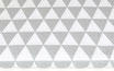 Dreiecke, grau