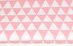 Dreiecke, pastellrosa