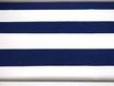 Canvas, Blaue Streifen 9,5 cm