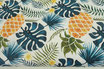 Ananas mit Blättern, Premium Qualität
