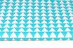 Dreiecke, türkis, 3 cm