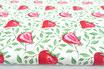 Erdbeeren mit Zweigen