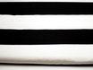 Canvas, Schwarze Streifen, 9,5 cm