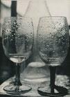 Nature morte aux verres mouillées