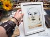 """13x18cm Kunstdruck """"The golden earring"""" Ausschnitt"""
