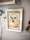 """13x18cm Kunstdruck """"The golden earring"""""""