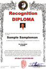 Anerkennungs-Diplom