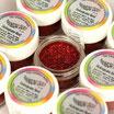 Purpurina fina Decorative Sparkles Holograma Roja